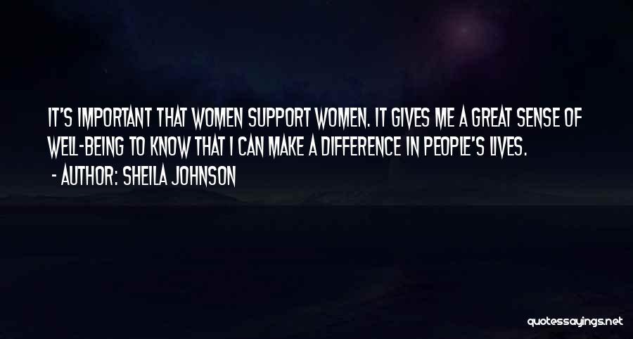 Sheila Johnson Quotes 1528193