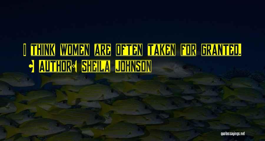 Sheila Johnson Quotes 837706