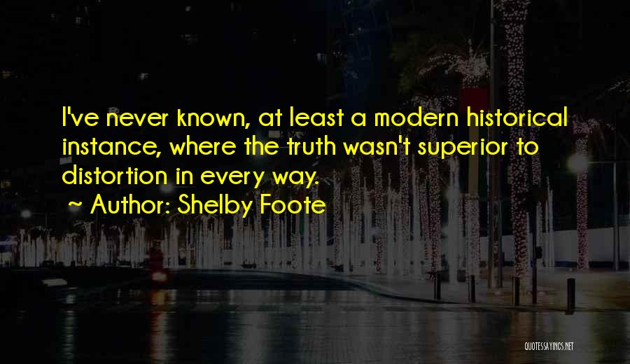 Shelby Foote Quotes 1365692