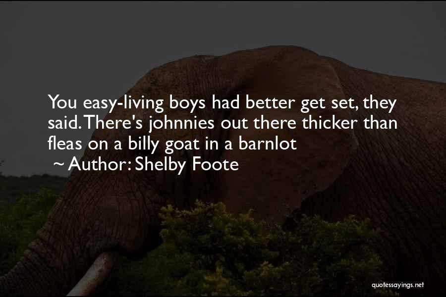 Shelby Foote Quotes 193333