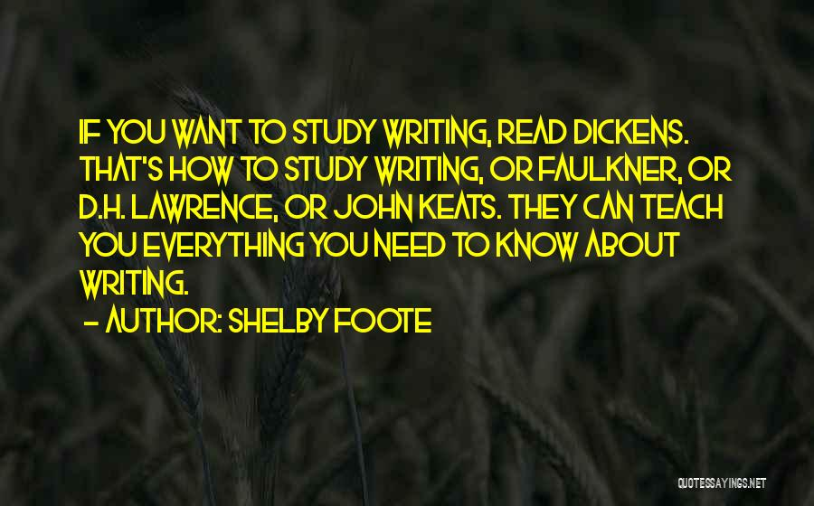 Shelby Foote Quotes 198010
