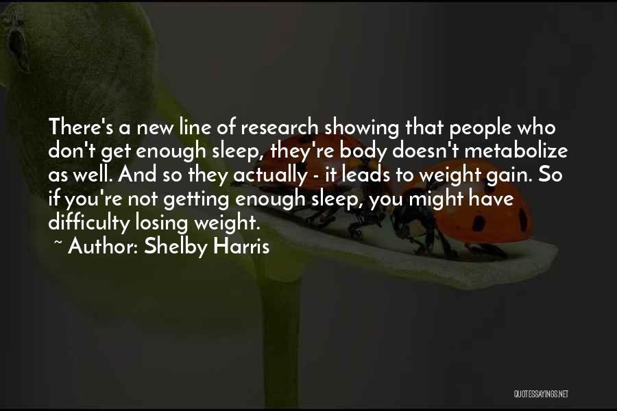 Shelby Harris Quotes 1955408