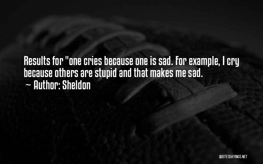 Sheldon Quotes 836003