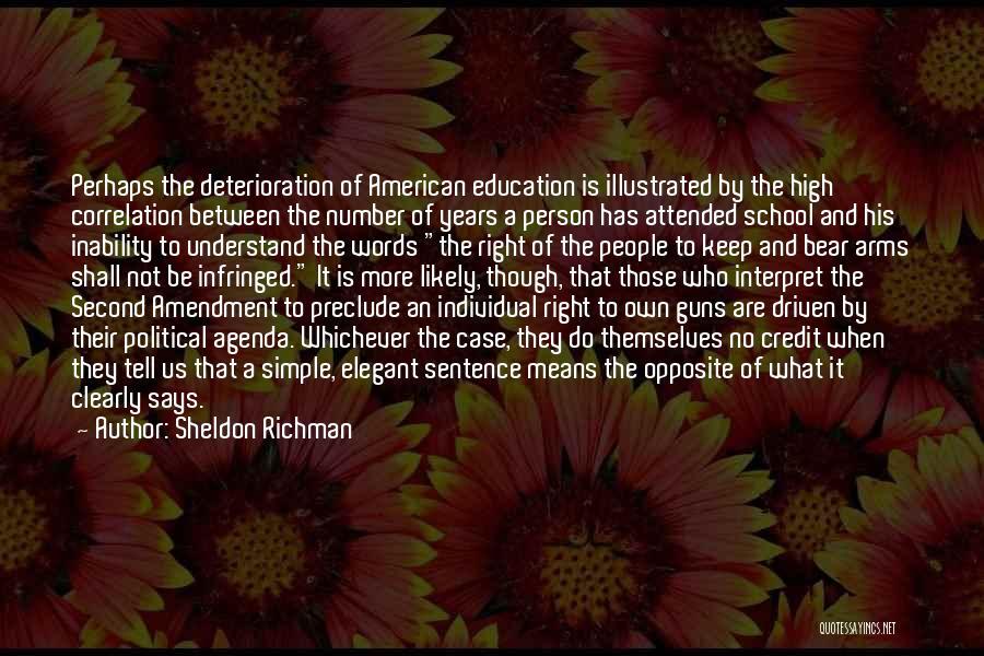 Sheldon Richman Quotes 1703337
