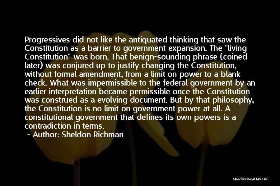 Sheldon Richman Quotes 1762131