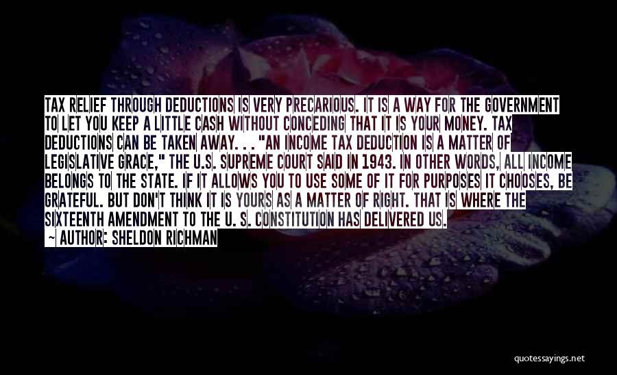 Sheldon Richman Quotes 1829397