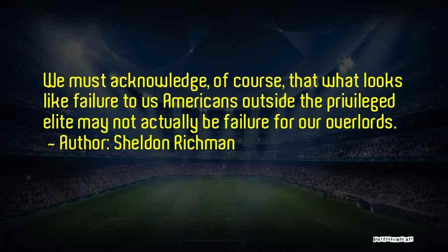 Sheldon Richman Quotes 728180