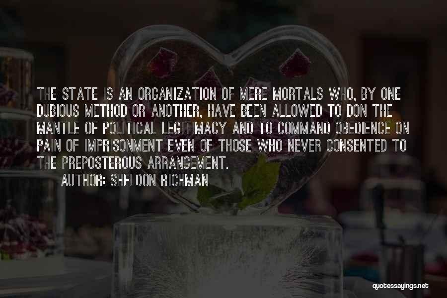 Sheldon Richman Quotes 986191