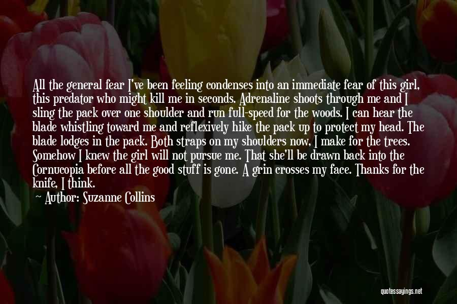 She'll Be Gone Quotes By Suzanne Collins