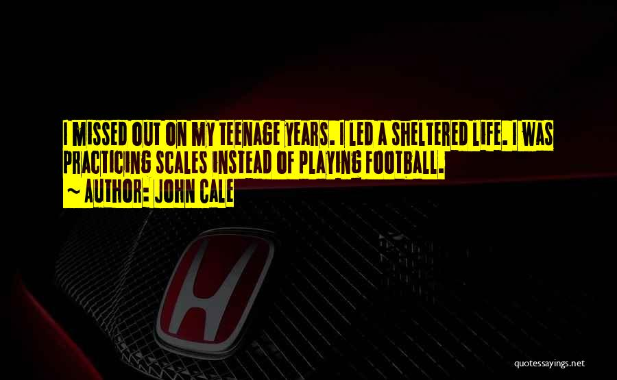 Sheltered Life Quotes By John Cale