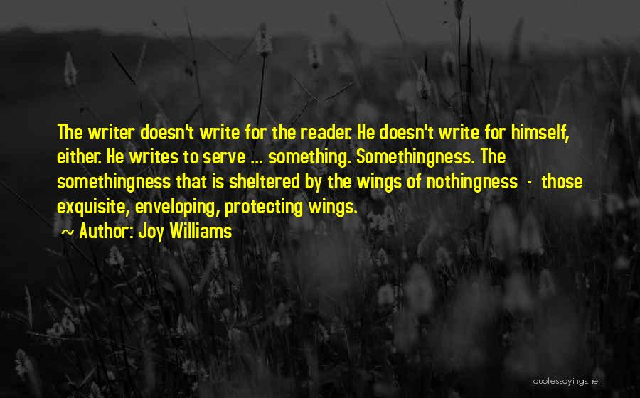 Sheltered Life Quotes By Joy Williams