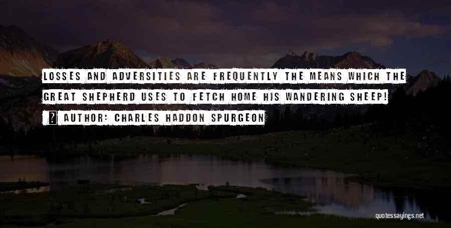 Shepherd And Sheep Quotes By Charles Haddon Spurgeon