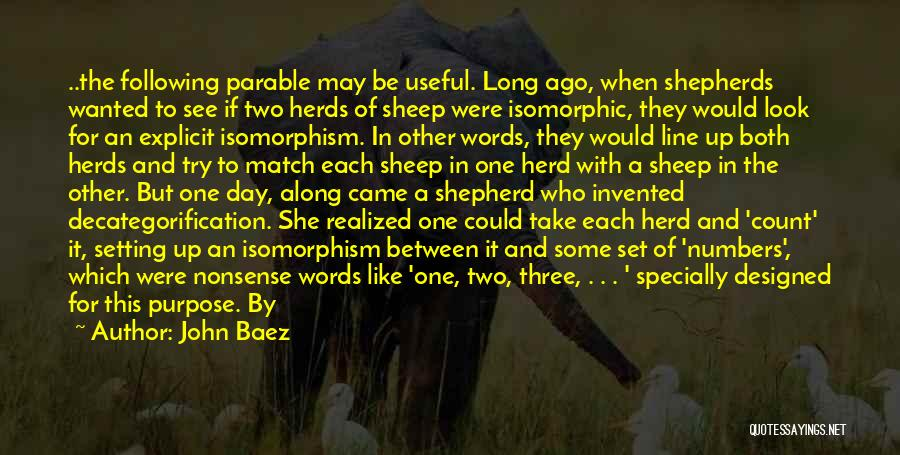 Shepherd And Sheep Quotes By John Baez