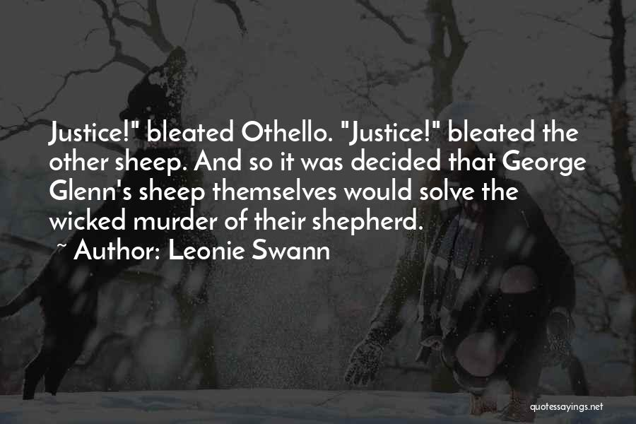 Shepherd And Sheep Quotes By Leonie Swann