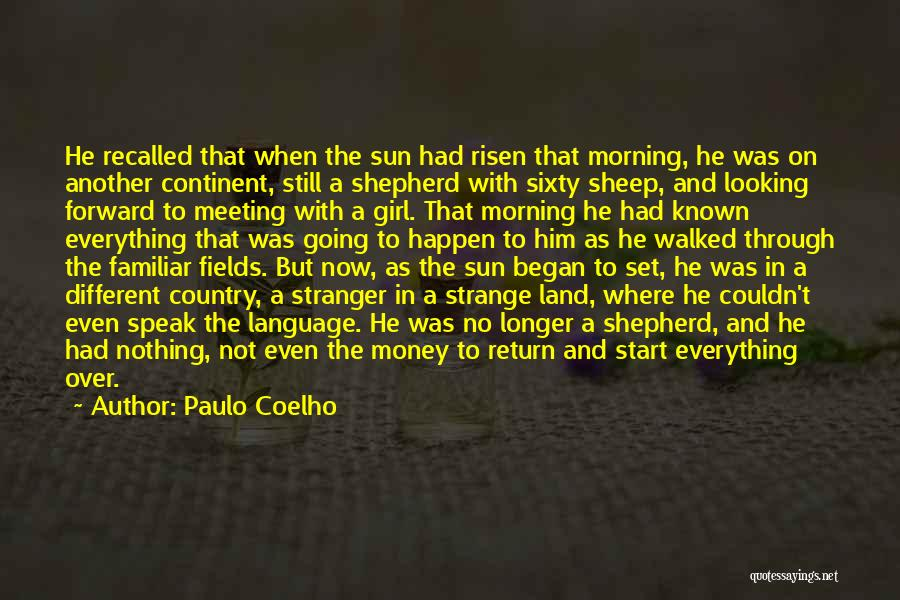 Shepherd And Sheep Quotes By Paulo Coelho