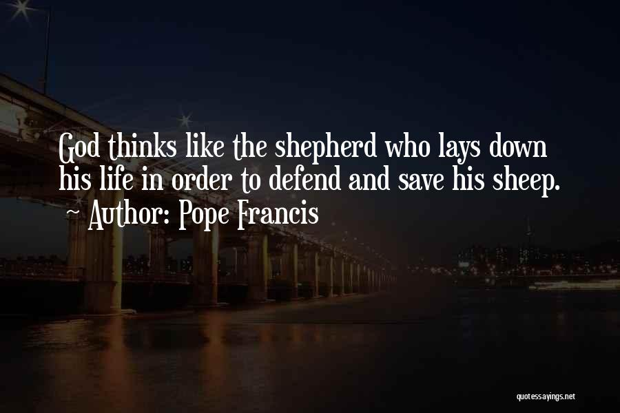 Shepherd And Sheep Quotes By Pope Francis