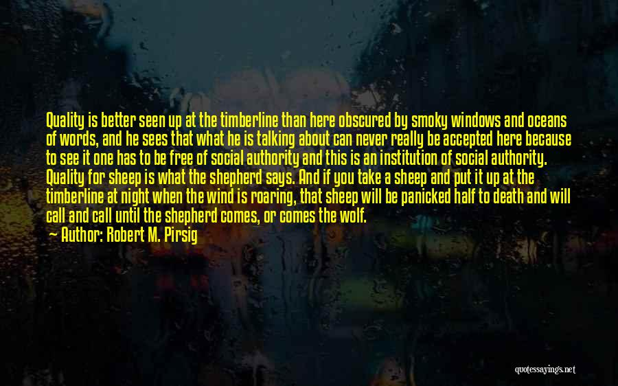 Shepherd And Sheep Quotes By Robert M. Pirsig