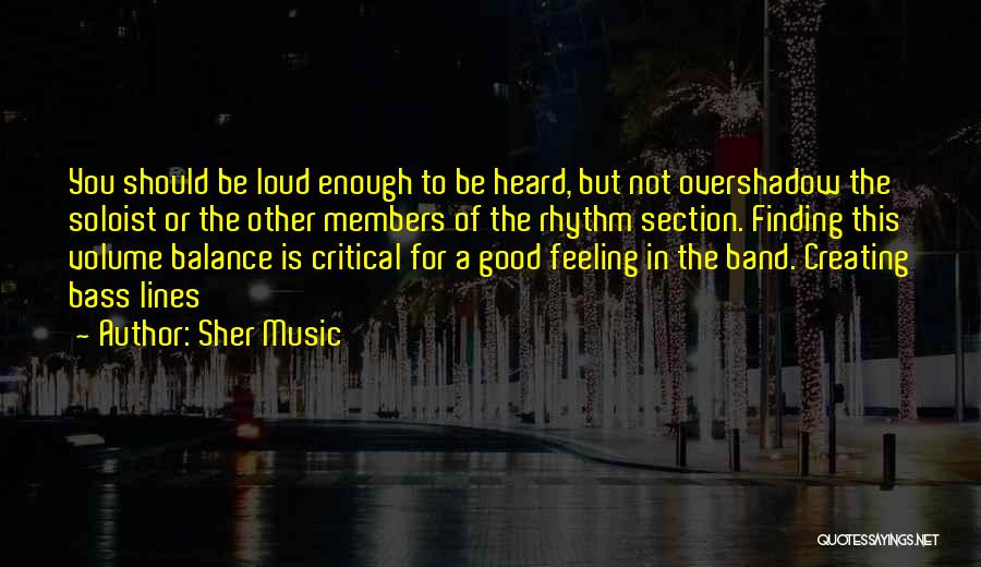 Sher Music Quotes 2118927