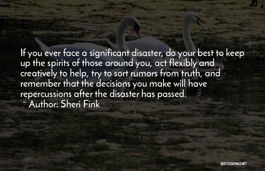 Sheri Fink Quotes 138334