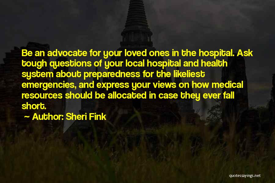 Sheri Fink Quotes 176437
