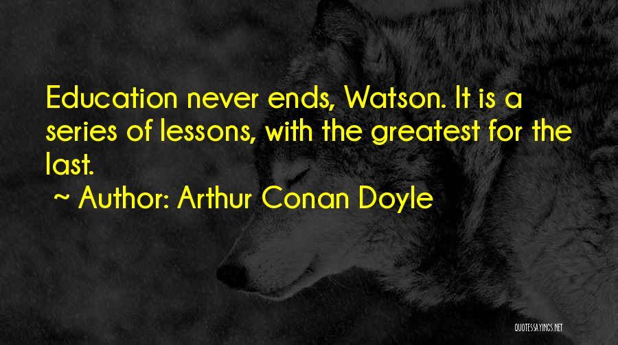 Sherlock Holmes Series 1 Quotes By Arthur Conan Doyle