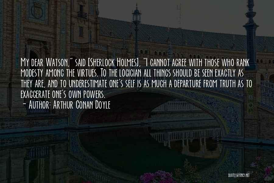 Sherlock's Quotes By Arthur Conan Doyle