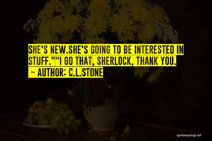 Sherlock's Quotes By C.L.Stone