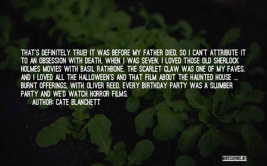 Sherlock's Quotes By Cate Blanchett