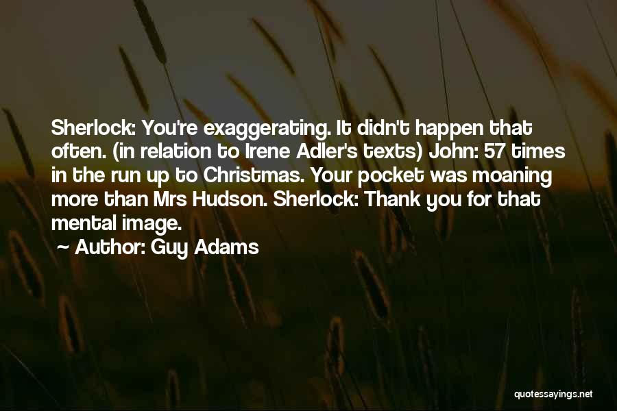 Sherlock's Quotes By Guy Adams