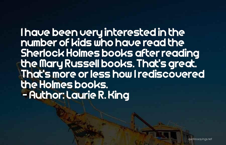 Sherlock's Quotes By Laurie R. King