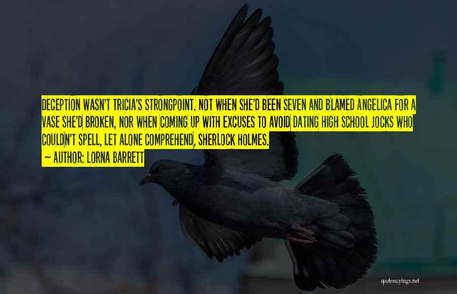 Sherlock's Quotes By Lorna Barrett