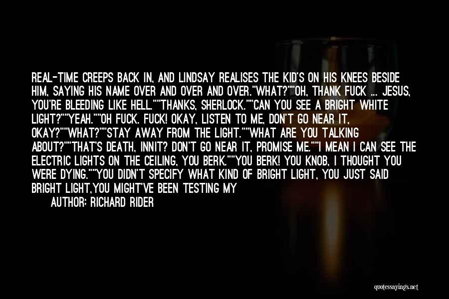 Sherlock's Quotes By Richard Rider