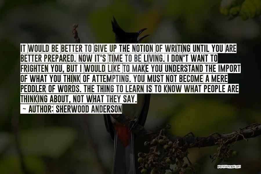 Sherwood Anderson Quotes 1045810