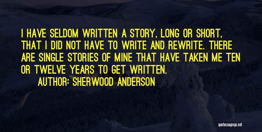 Sherwood Anderson Quotes 1513321