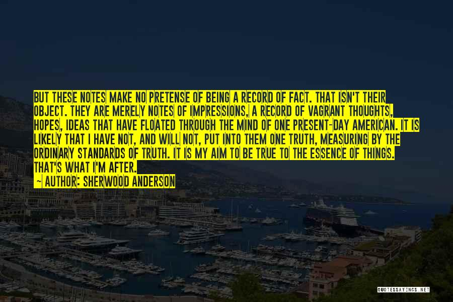 Sherwood Anderson Quotes 1774609
