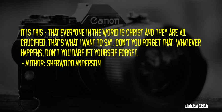 Sherwood Anderson Quotes 1793725