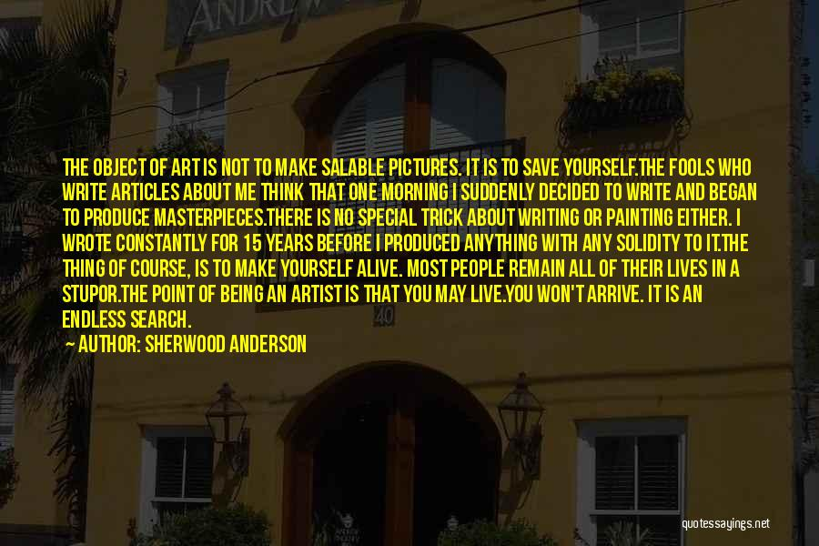 Sherwood Anderson Quotes 1895203