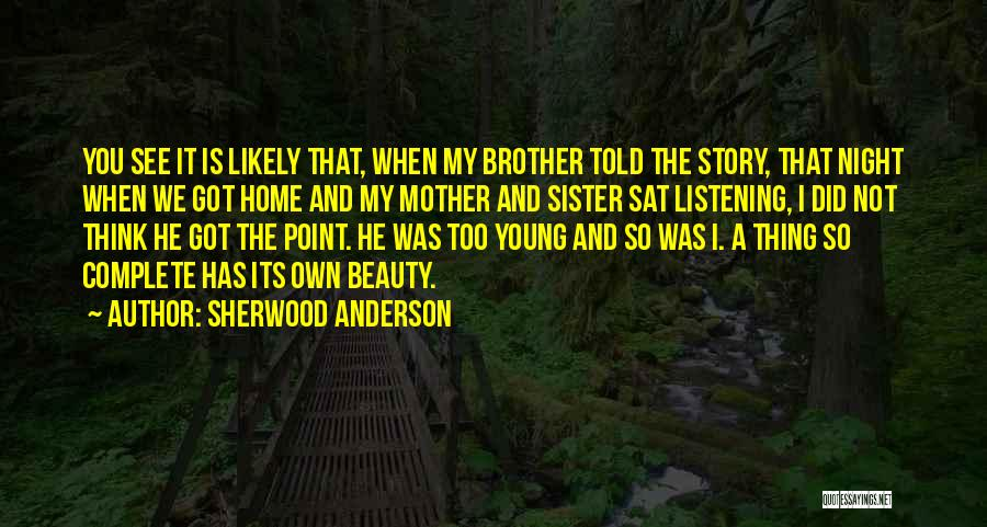 Sherwood Anderson Quotes 1951145