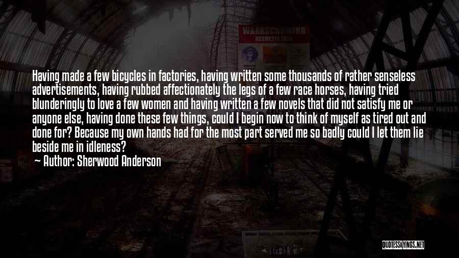 Sherwood Anderson Quotes 213580