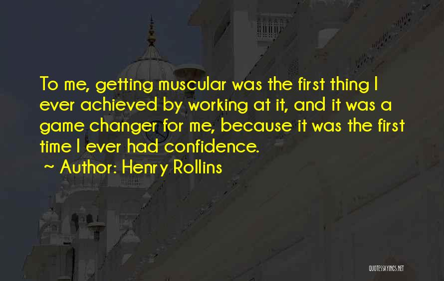 She's A Game Changer Quotes By Henry Rollins