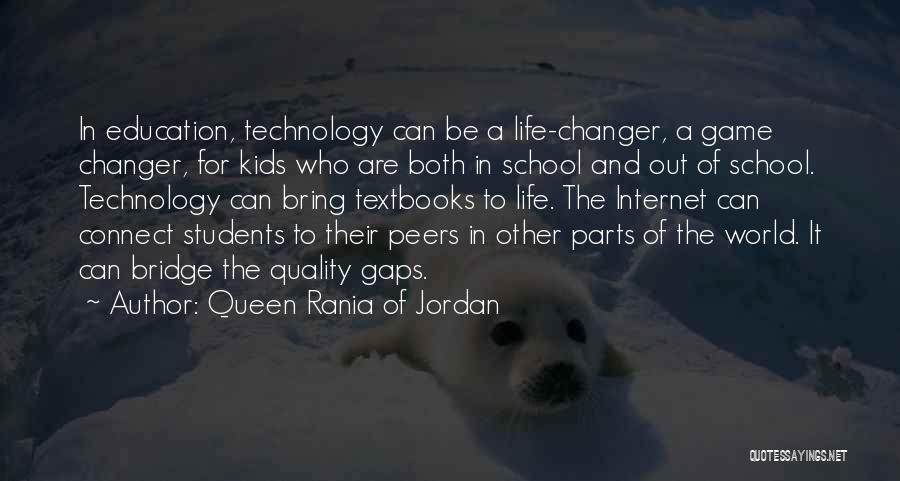 She's A Game Changer Quotes By Queen Rania Of Jordan