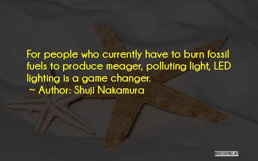 She's A Game Changer Quotes By Shuji Nakamura