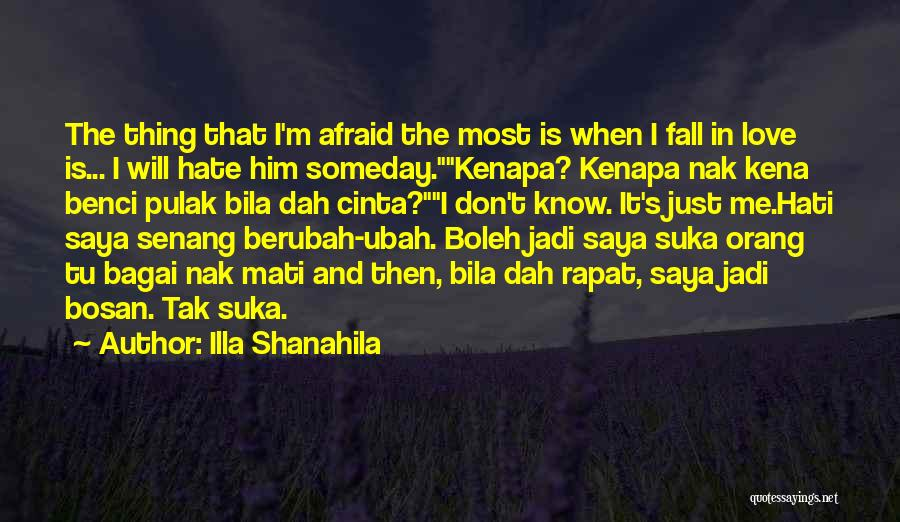 top she s afraid to fall in love quotes sayings