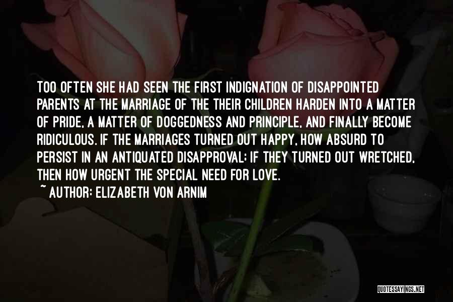 She's Finally Happy Quotes By Elizabeth Von Arnim