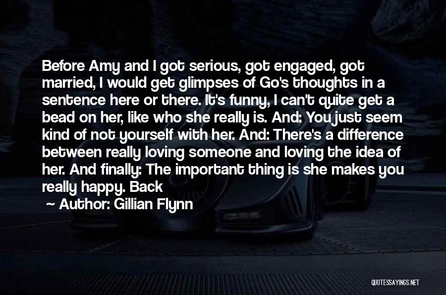 She's Finally Happy Quotes By Gillian Flynn