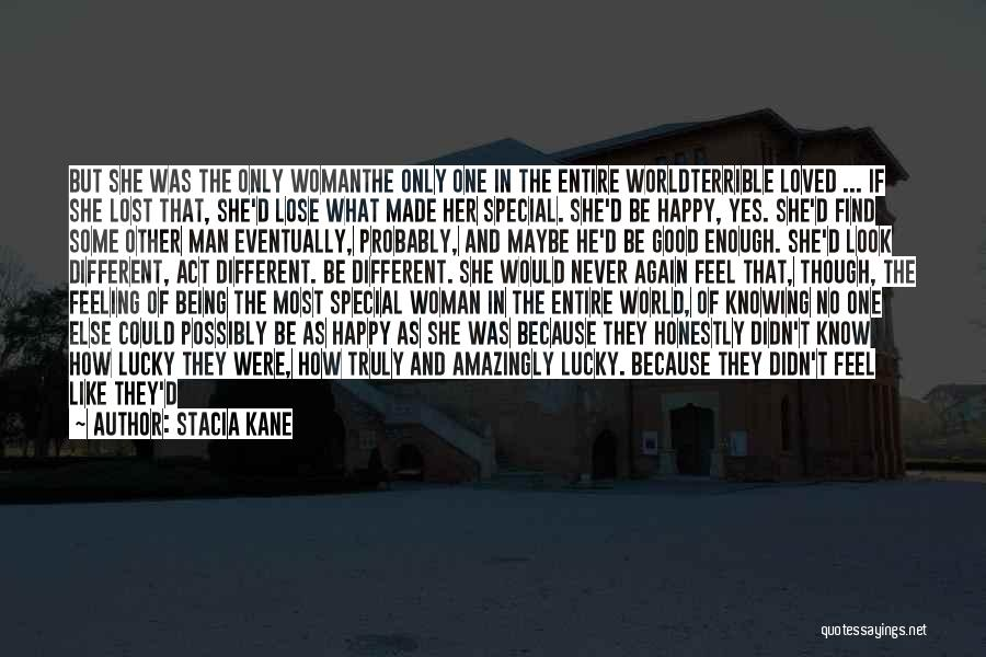 She's Finally Happy Quotes By Stacia Kane