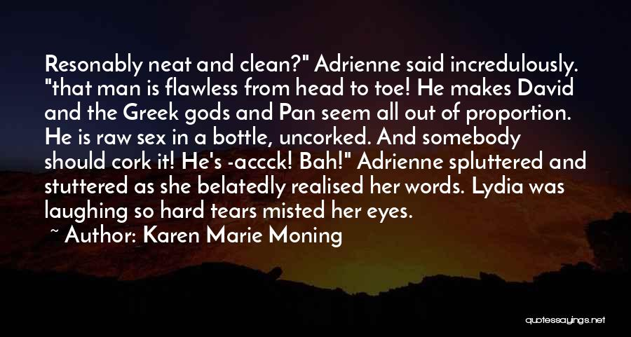 She's Flawless Quotes By Karen Marie Moning