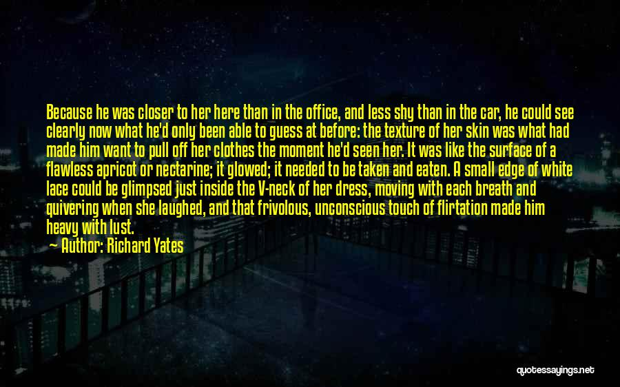 She's Flawless Quotes By Richard Yates