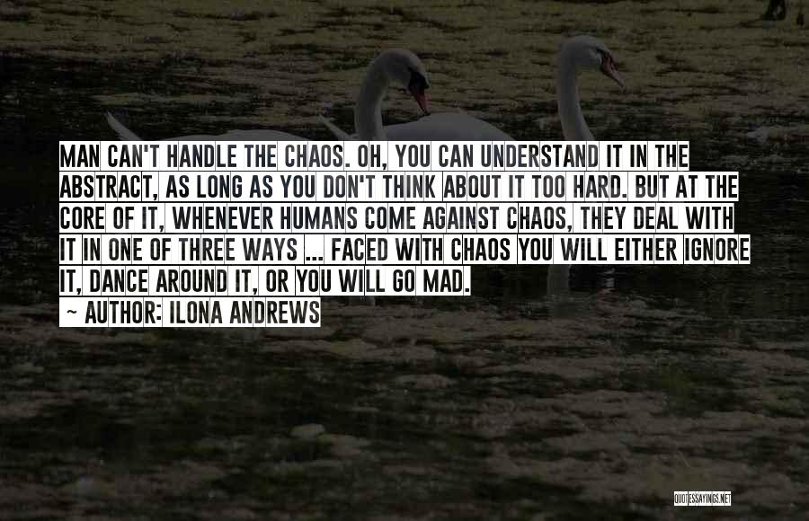 She's Hard To Handle Quotes By Ilona Andrews