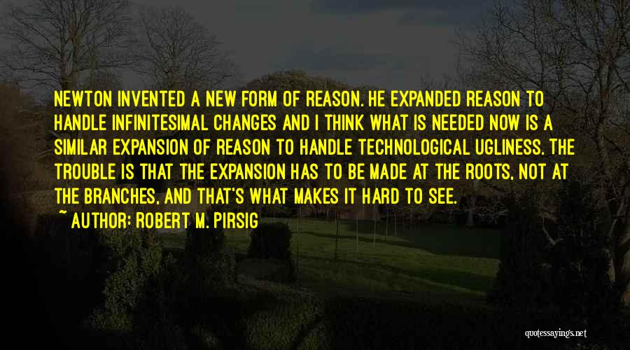 She's Hard To Handle Quotes By Robert M. Pirsig